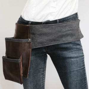 Batavia-M120-Jeans-en-leer VAN-SYB leren horeca riem