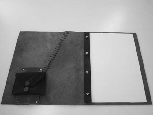 Menumap Suez-M850 VAN-SYB leren menumap zwart