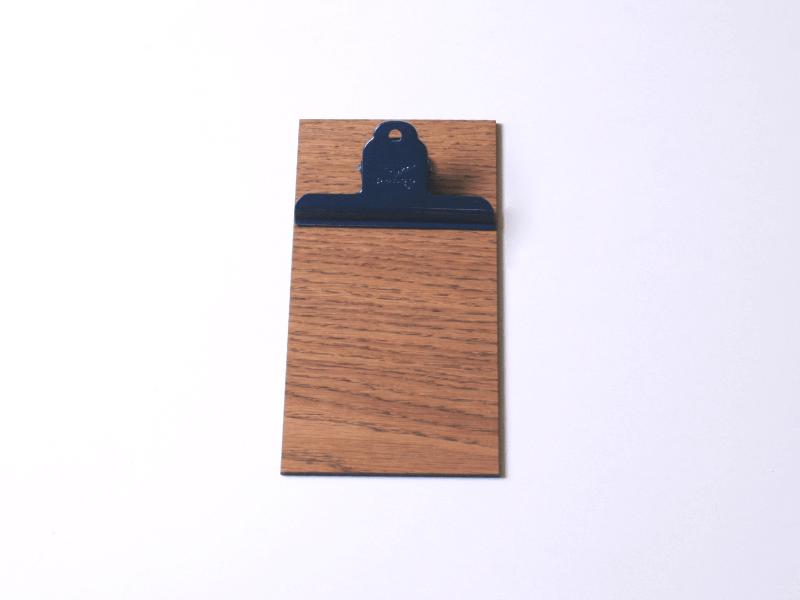 VAN-SYB horeca houten klembord maas horeca clipboard