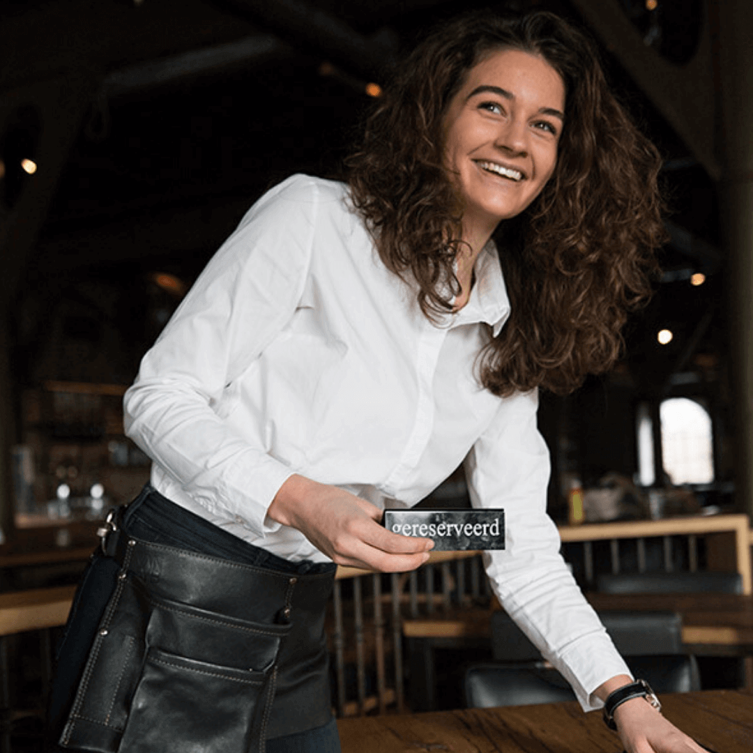 VAN-SYB lederen horeca schorten belts holsters accessoires
