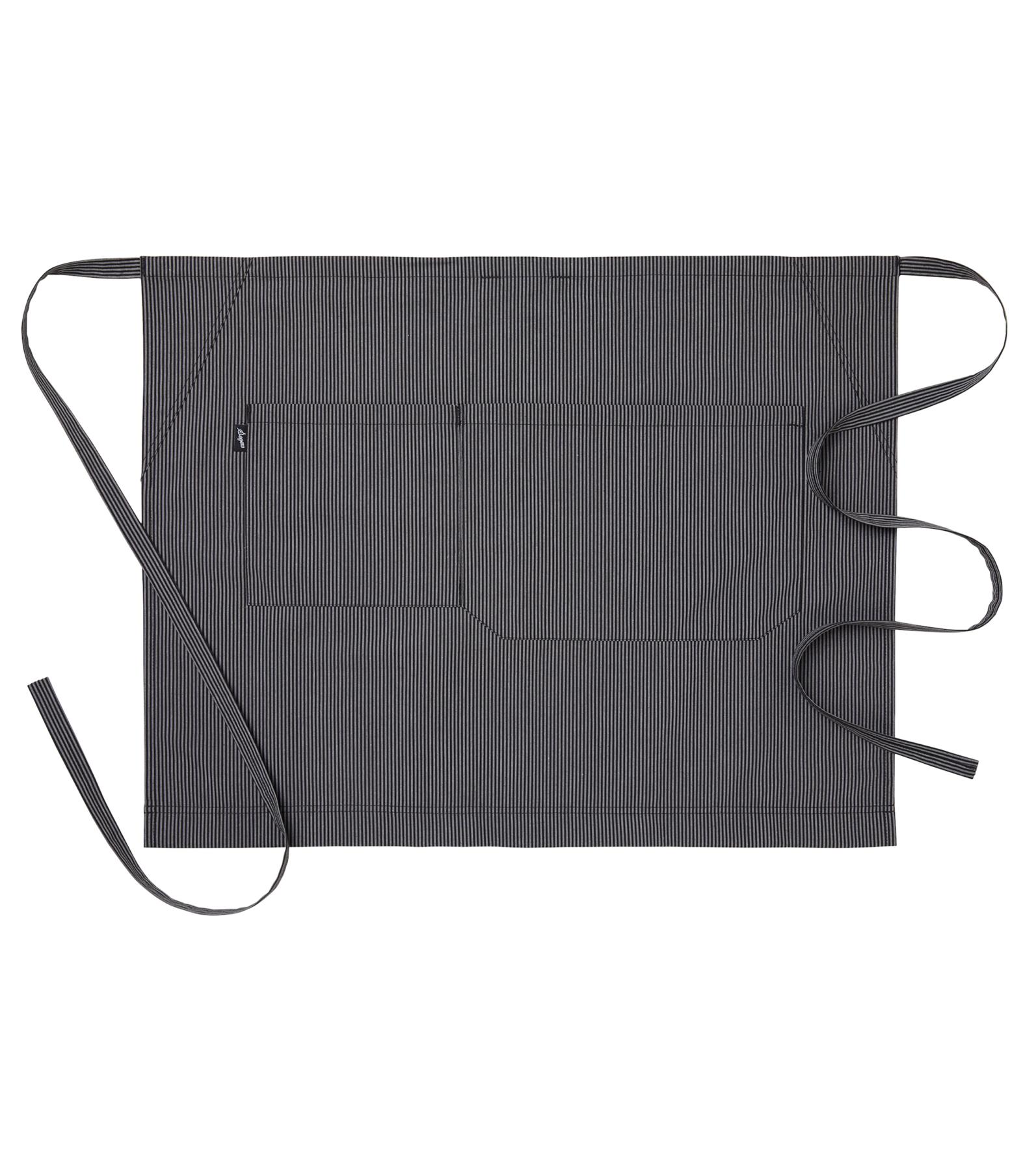 sloof in zwart grijs gestreept