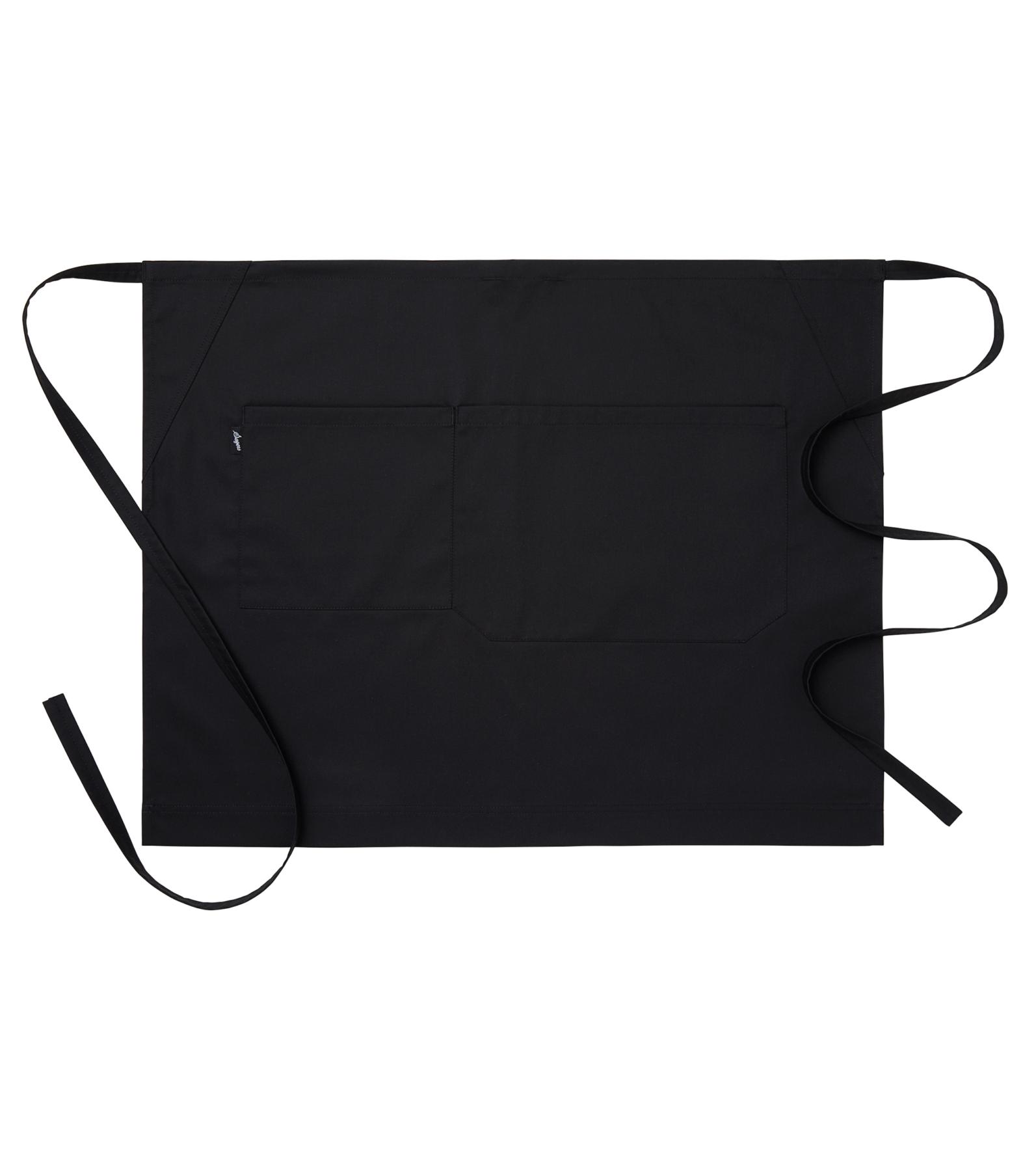 sloof met zakken in zwart