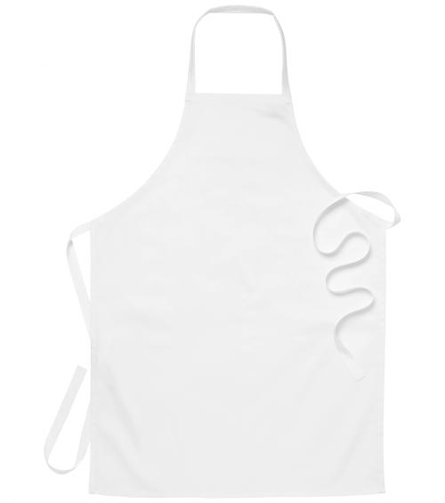 Praktisch keukenschort wit