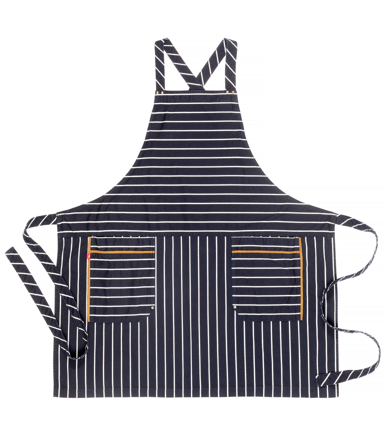 Gestreept BBQ schort