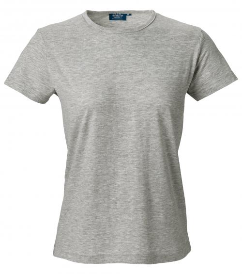 T-shirt korte mouw dames met ronde hals